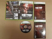 METRO 2033 Xbox 360 game COMPLETE + MINT DISC! Tested & Works