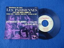 """BOF Les Parisiènnes ep 45t Belgium """"Chaussettes noires Play Boys Gillian Hills"""