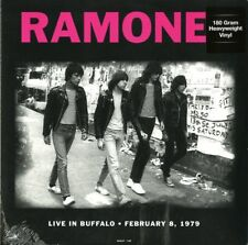 Ramones Live In Buffalo 1979 February Vinyl Nuovo 180 Grammi LP
