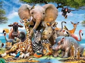 Ravensburger - Favourite Wild Animals Puzzle 300pc