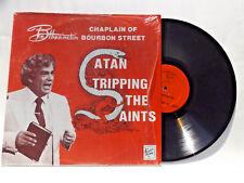 BOB HARRINGTON SATAN TRIPPING THE SAINTS VINYL LP USED RECORD DEVIL SATANIC