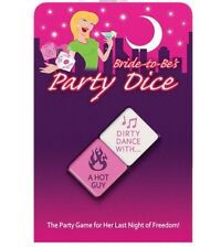 Bride-To-Be's Party Dice Kheper