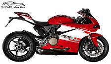 Adesivi per Ducati Panigale 959 kit Performance Tricolore Personalizzato