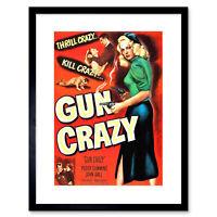 Advertisement Film Gun Crazy Cummins Lewis Noir 50 Framed Wall Art Print