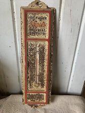 Vintage Koegel's Metal Thermometer Advertising