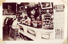 RPPC - THE BUCKET OF BLOOD SALOON V. L. McBride, Prop. VIRGINIA CITY Nevada