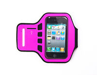Ultimate iPhone 4, 4G, 4s Supreme Quality Jogging Running Hot Pink Armband