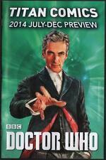 Titan Comic 2014 Preview #1 SDCC San Diego ComiCon BBC Doctor Who
