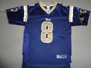 NEW w Tags Blue St. Louis Rams #11 Tavon Austin NFL Screen Jersey Youth L 14-16