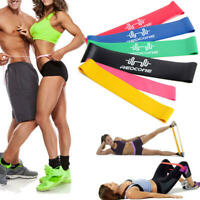 Fitnessband 6er Set Fitnessbänder Widerstandsband 6 Stärken Resistanceband Z180