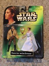 Nib Star Wars Tpotf Princess Leia And Luke Skywalker Collection.