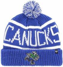 NHL Vancouver Canucks 47 Wollmütze Mütze Calgary Cuff Knit Hat 194165103772