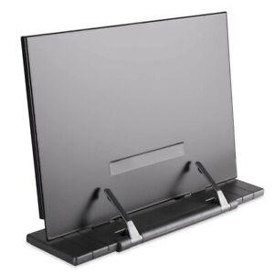 Adjustable Foldable Bookend Reading Recipe Book Stand Document Holder Base Shelf