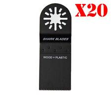 10 X 35mm Shark Blades for Fein Multimaster Bosch Makita Oscillating Multitool