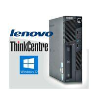 PC COMPUTER FISSO DESKTOP LENOVO M90 i3 530 SMALL MINI WINDOWS 10 4GB 160GB.