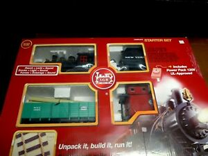 LGB 72442 Freight NYC Starter Set Complete RTR
