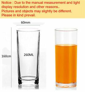 Y60164 260ml Mug Double Wall Old Fashioned Milk Mug Glass 6 In Gift Box