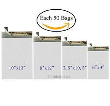 200 Poly Envelope Bags 4 Sizes Self-Sealing Shipping Mailer -St ShipMailers