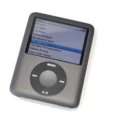 Apple iPod Nano 3rd Generation - Black - A1236 8 GB - Tested Working