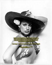 Vanessa del Rio Photo Collectible B&W 8x10 RARE! 1975 Hat Sign After BUY w/COA