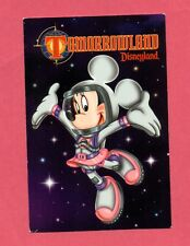 Disneyland Minnie space outfit 1998 Grand Re-Opening Tomorrowland post-card new