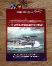 AKAGI JAPANESE AIRCRAFT CARRIER ** IJN history pictures battle of midway