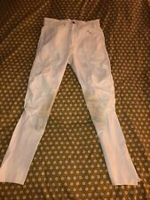 Pikeur Breeches Stretch White Equestrian Riding Pants Sz 46