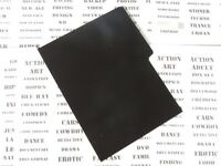 DVD DIVIDERS [black] 20 x dividers for your film collection index cards display