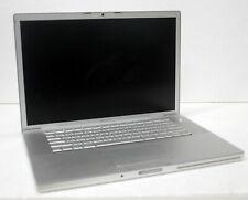 "Apple MacBook Pro A1226 15"" Laptop Intel Core 2 Duo 2.20GHz 6GB RAM NO HDD"