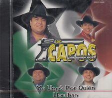 Los Capos De Mexico Ya Llego Por Quien Lloraban CD New Nuevo sealed Sellado
