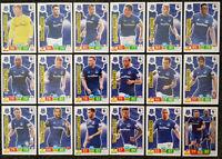 2019/20 PANINI EPL Premier League Soccer Cards - Everton Full Team Set (18 crds)