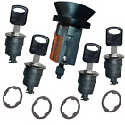 Ford E Series Van Ignition & Four Door Lock Cylinder Tumbler Barrel Set 4 Keys