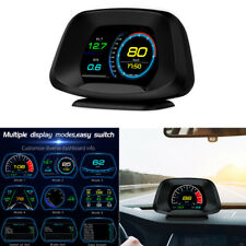 OBD2 Car ECU Computer GPS HUD Speedometer Voltage Fuel Consumption ECT RPM Gauge