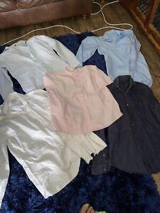 Mens Clothes Bundle Size M SHIRTS. Including Reiss, River Island , Tm Lewin