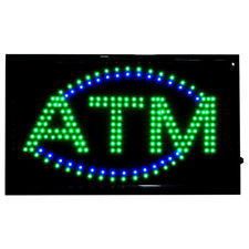 LARGE Bright LED Neon Light ATM Sign Business Animated Motion Display 22