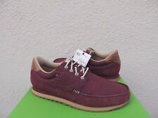 SANUK BURGUNDY BEER RUNNER SUEDE SIDEWALK SURFER SNEAKERS SHOES, US 9/ EUR 42