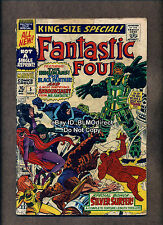 1967 Fantastic Four Annual #5 1st Solo Silver Surfer Story 1st Psycho-Man G/VG