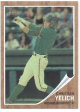 2011 Topps Heritage Minor League Green Tint #49 Christian Yelich NM-MT SER/620