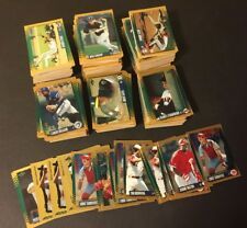 1995 Score Baseball GOLD RUSH PARALLELS 550+ Count LOT