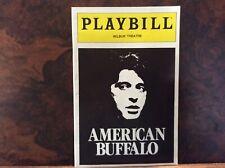 American Buffalo Playbill Wibur Theatre Boston April 1984 Al Pacino