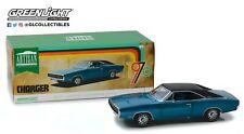 GreenLight 1/18 Artisan Collection - 1970 Dodge Charger 500 - B5 Blue 13530