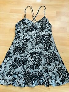 NEW! La Senza Women's Stunning Silk Lingerie Nightie Chemise Slip Dress, Size S!