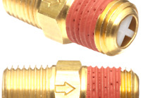 0-30 Hg Vacuum Range 1 Male NPT 0-30 Hg Vacuum Range 1 Male NPT VR10-013 Control Devices VR Series Brass Vacuum Relief Valve