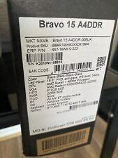 MSI Bravo 15 - Gaming Laptop, Ryzen 5 4600H, Radeon RX5500M, 8Gb Ram, 256GB SSD