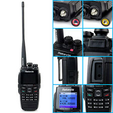 DPMR Retevis VHF+UHF 2way Radio Digital Transceiver  256CH 1800mAh Scrambler us