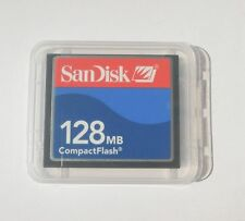 Genuine 128Mb SanDisk CompactFlash Cf Memory Card Sdcfb-2048/Sdcfj-2048 F/Camera