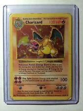 Pokemon Card -Shadowless Charizard Holo 1999 Edition 1st Base Set PL Ex Ed 4/102
