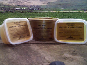 GOLD LABEL GLYCERIN LEATHER AND SADDLE SOAP 100g 250g 500g