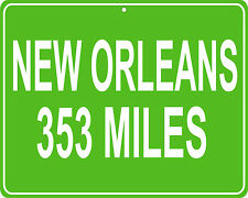 New Orleans in Louisiana  - distance to your house