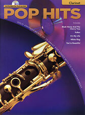 Play-Along Pop Hits Learn to Play Beyonce Rhianna Clarinet Sheet Music Book & CD